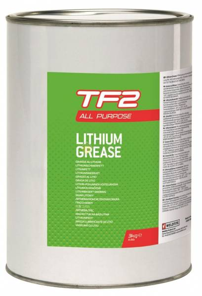 Смазка литиевая банка 3кг TF2 LITHIUM GREASE WELDTITE